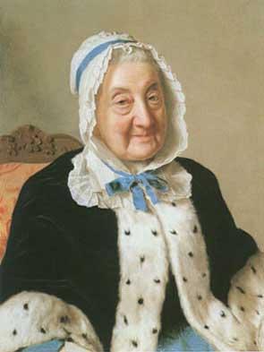 Portrait of Mme Tronchin