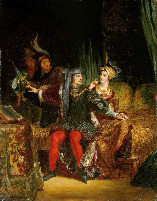Charles VI and Odette de Champdivers