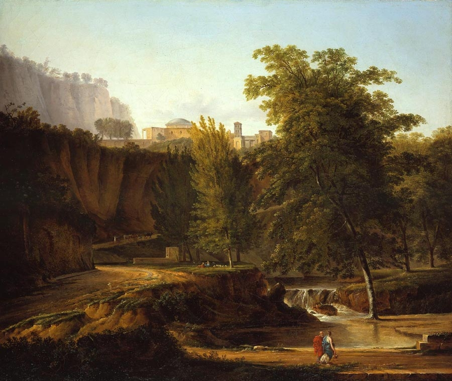 Neo-classical Landscape with a View of a Town