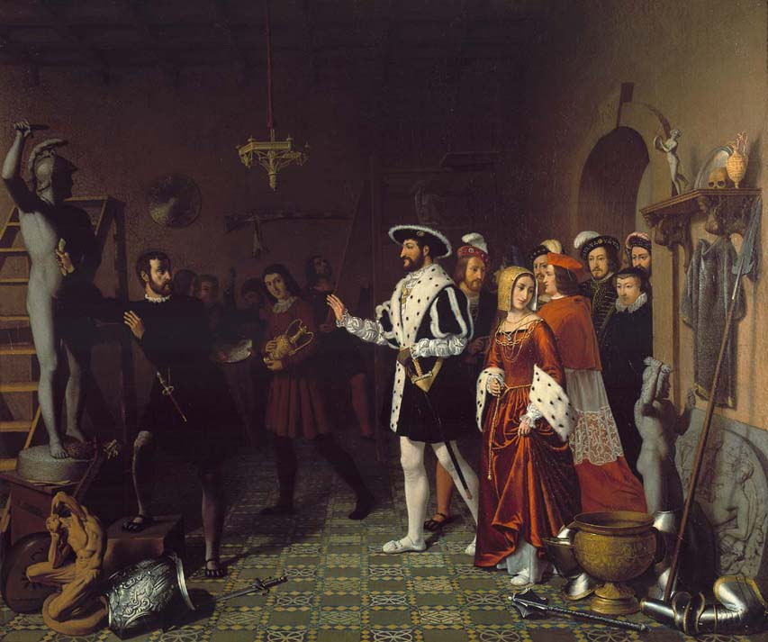 François I visiting Benvenuto Cellini at the Castle of Nesle