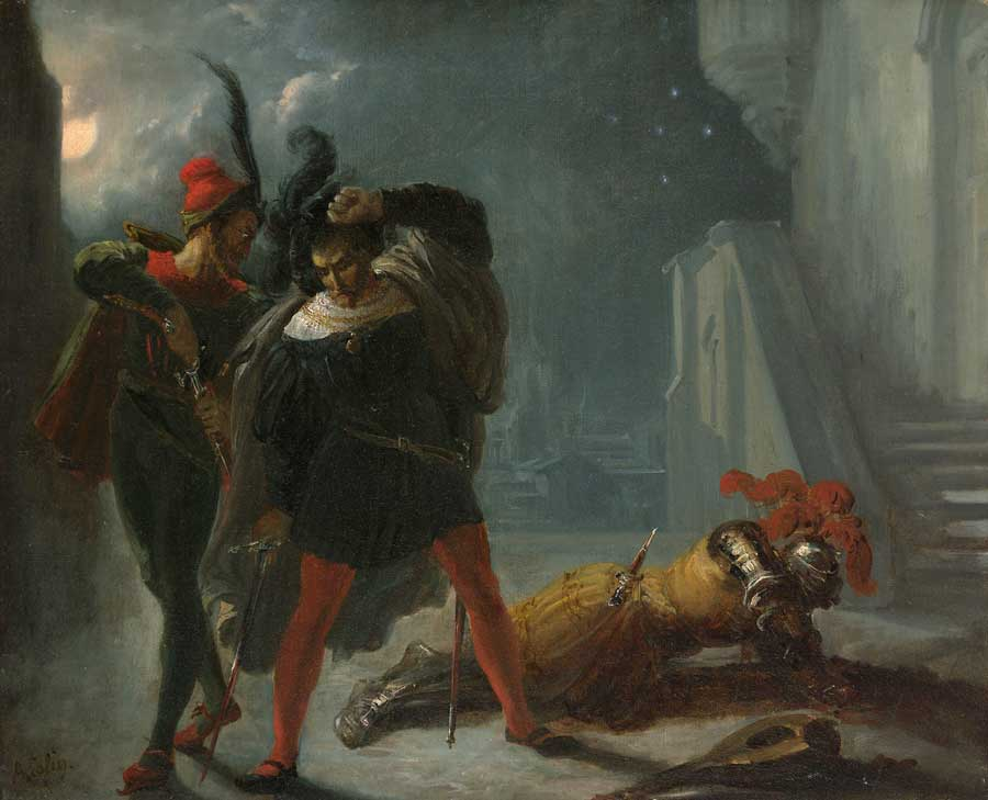 Death of Valentin