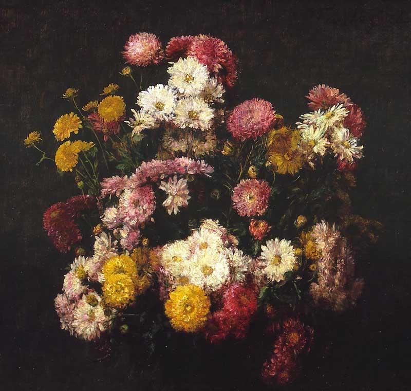 Fleurs, Chrysanthèmes
