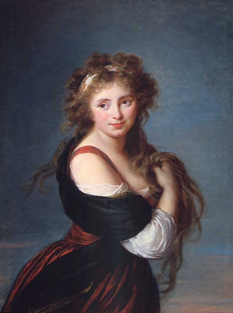 Portrait of Hyacinthe Gabrielle Roland, Countess of Mornington
