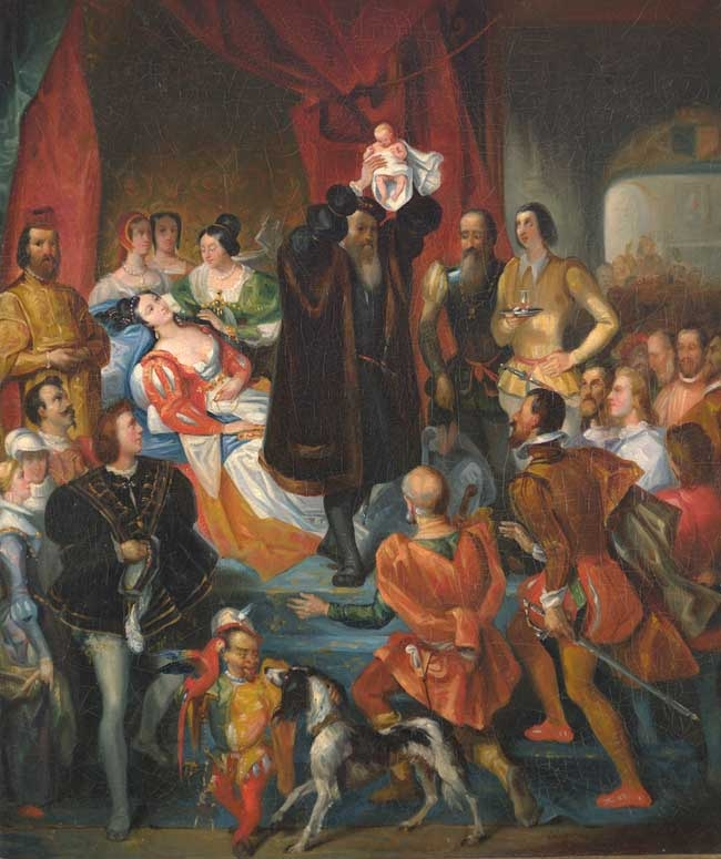 Birth of Henri IV