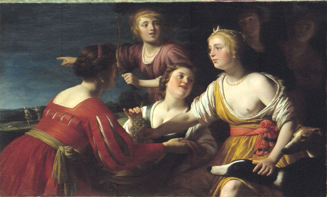 Diana and her Nymphs Reposing