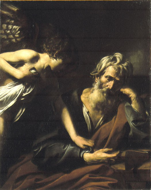 The Angel appearing to Saint Joseph