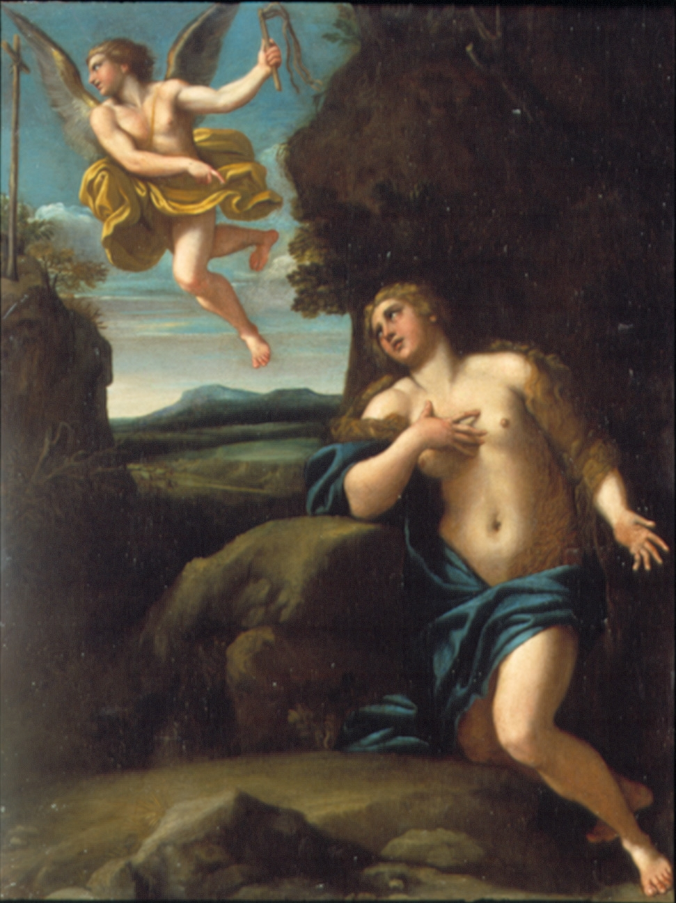 The Penitent Magdalene with an Angel
