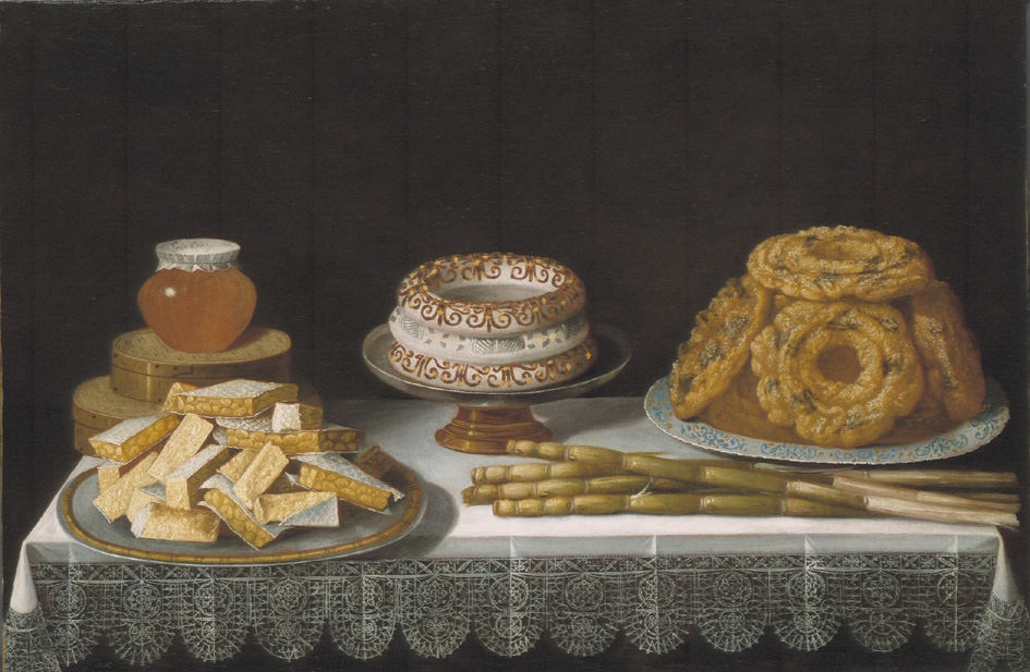 Still Life with Sweet meats
