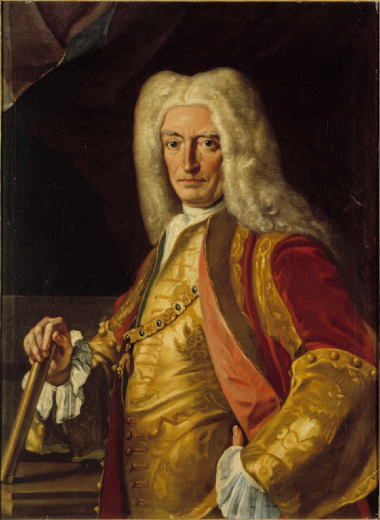 A portrait of the Viceroy of Naples, Count Harrach