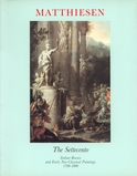 1987-The Settecento:  Italian Rococo and Early Neoclassical Paintings,1700-1800.