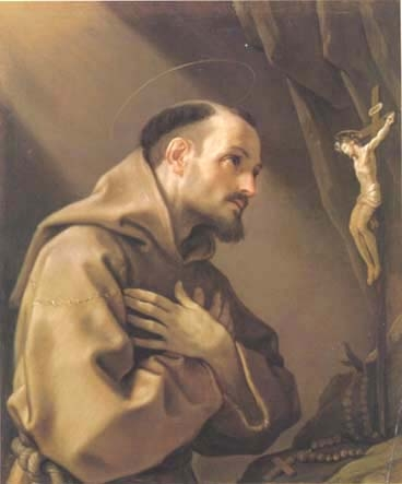 St. Francis Adoring the Cross