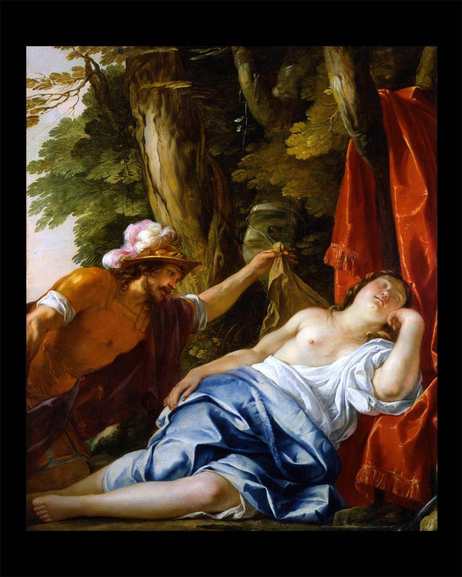 Cimon discovering the sleeping Iphigenia