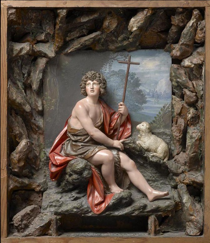 The Young St John the Baptist in the Wilderness