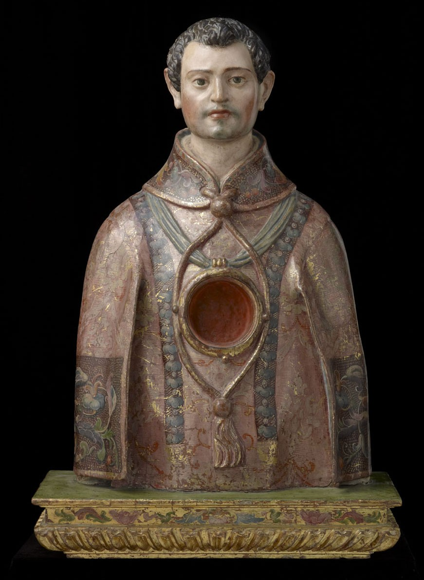 Reliquary Bust of a Saint Protomartyr (Saint Vincent of Saragossa?)