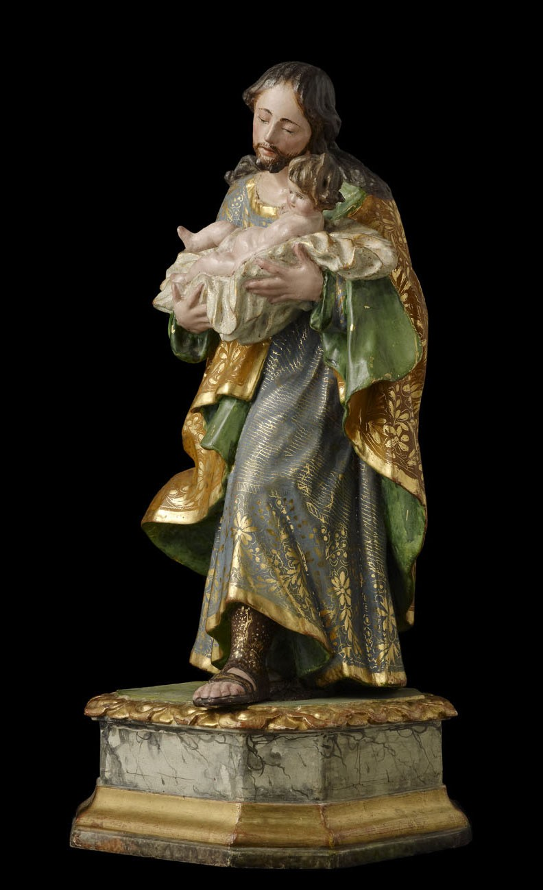 Saint Joseph and the Child
