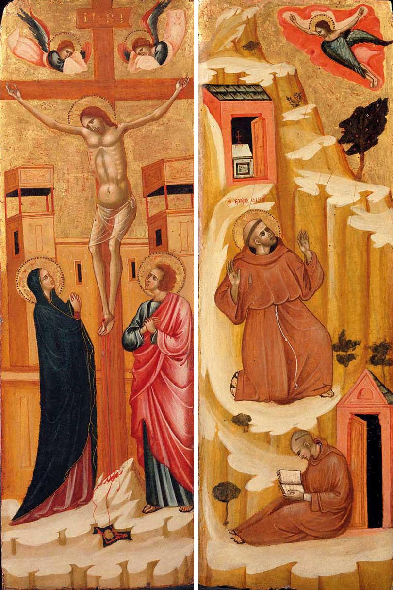 The Crucifixion and the Stigmata of Saint Francis