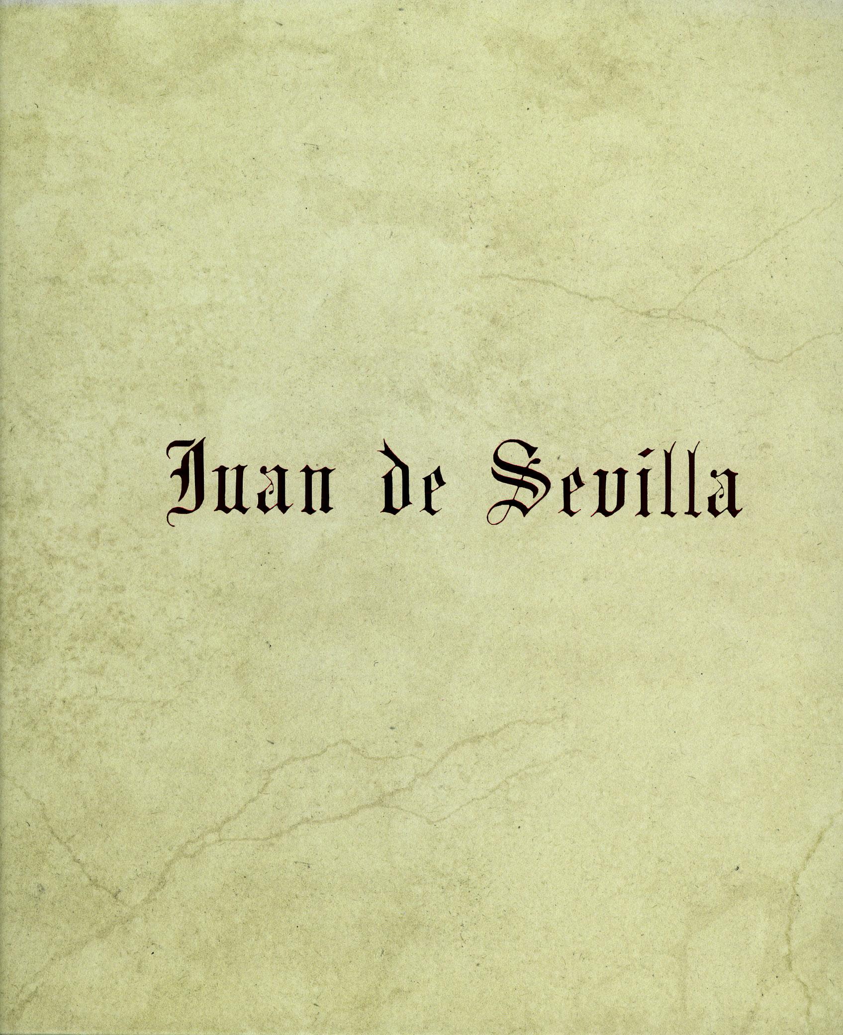 2015-Juan de Sevilla.