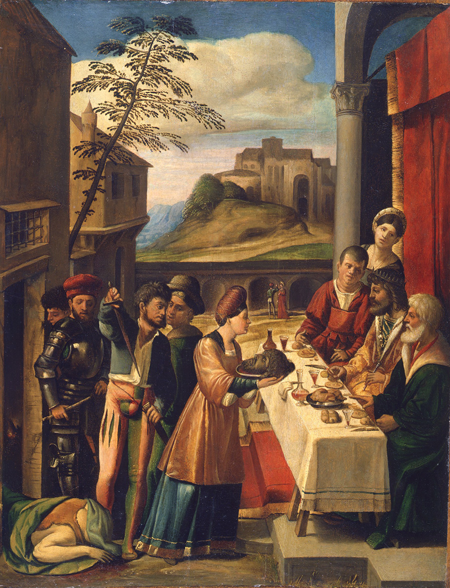 Salome Presenting the Head of the Baptist to Herod