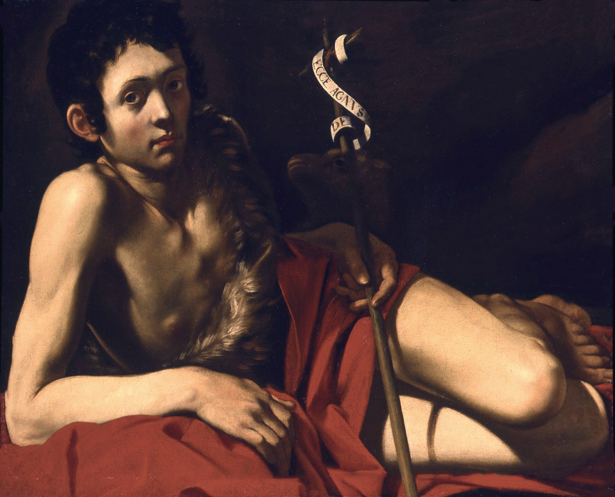St John the Baptist Resting in the Desert