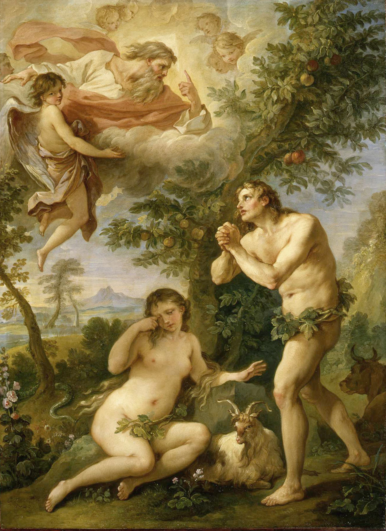 Adam and Eve Tempted