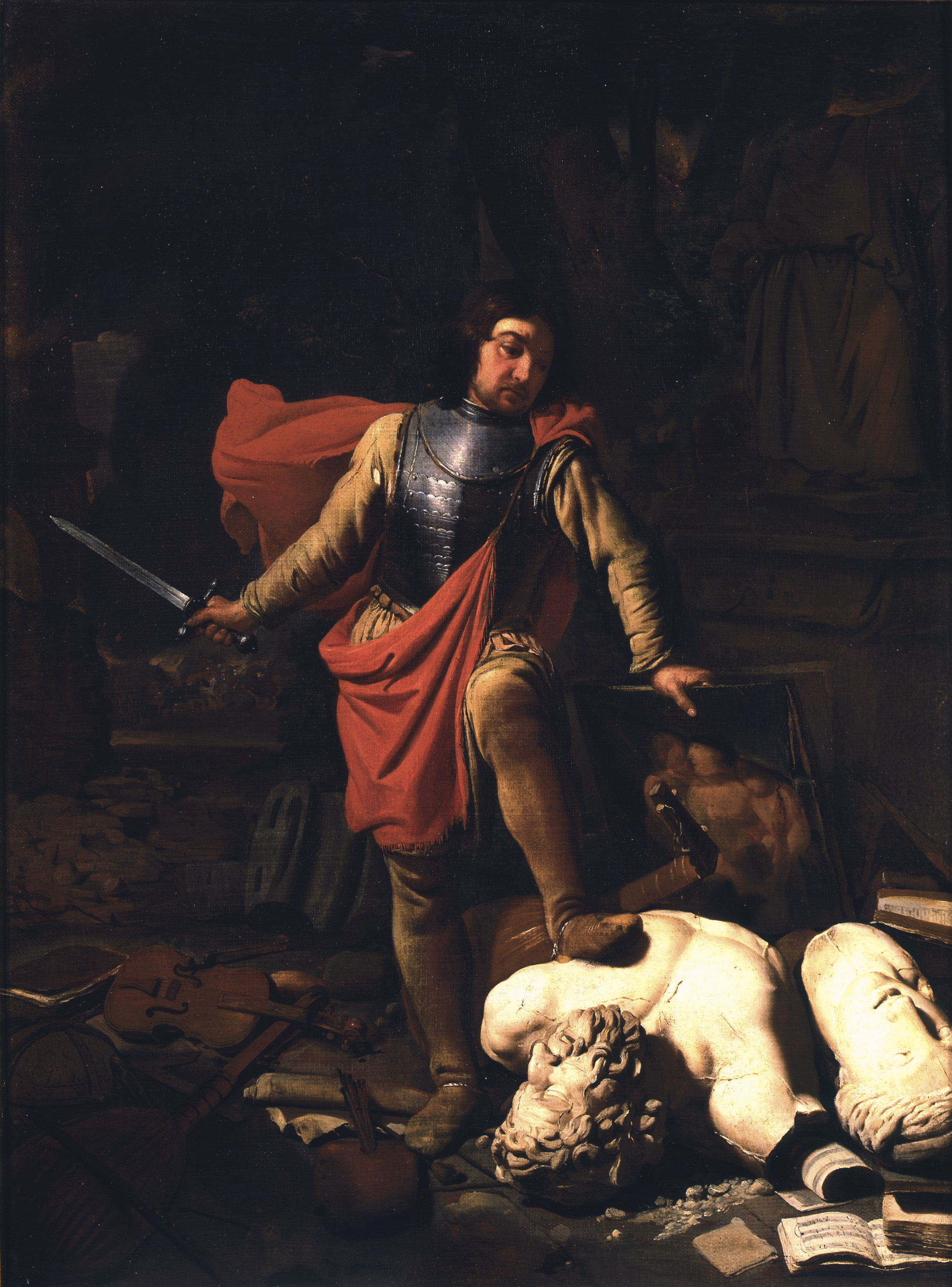 An allegory of War or Mars Destroying the Arts