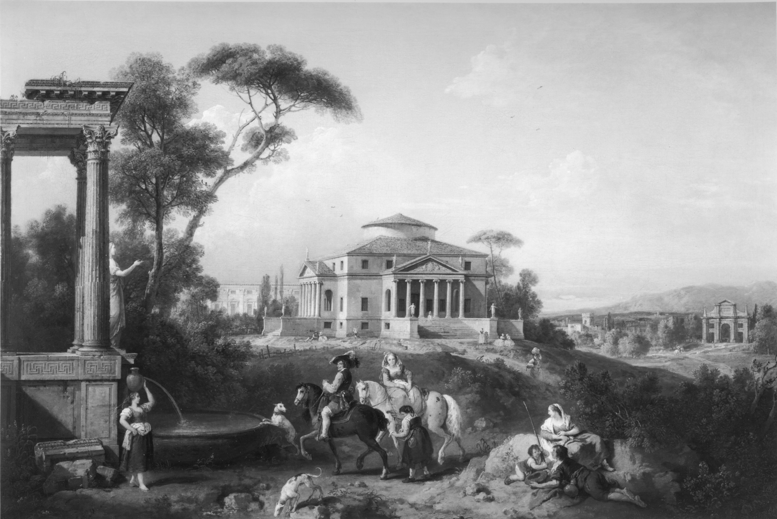 Capriccio: classical Building and Figures