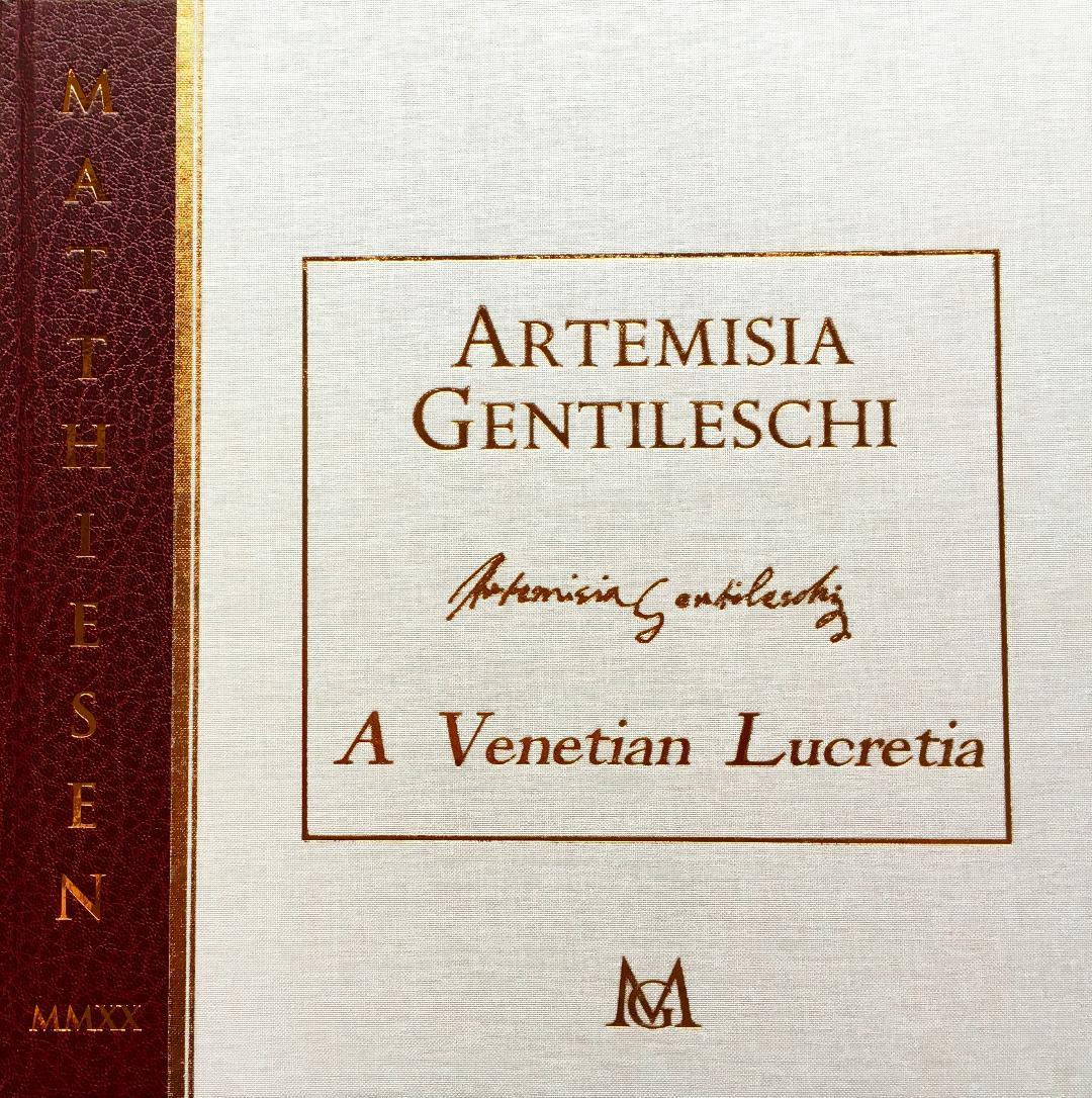 Artemisia Gentileschi - A Venetian Lucretia