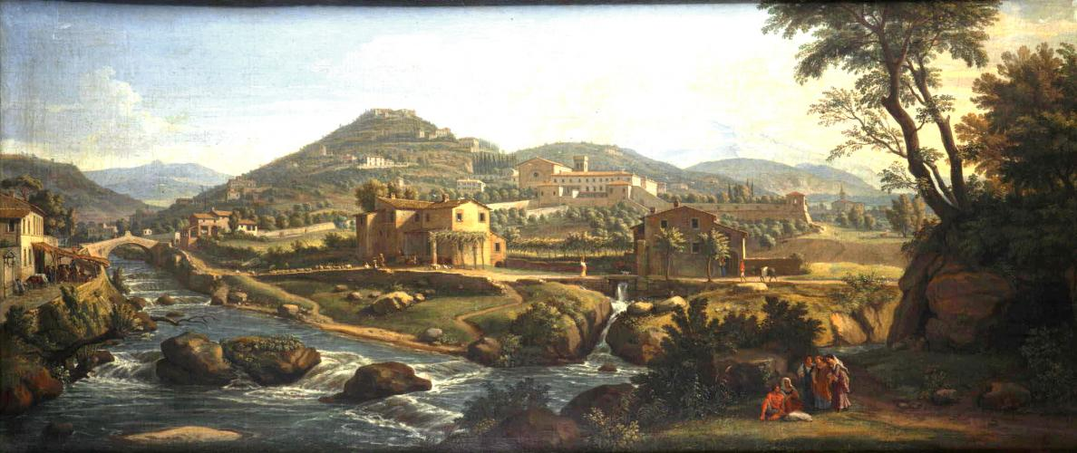 A View of the Arno below Fiesole