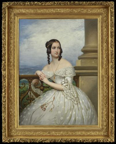 Portrait, presumed to be of Miss White, 1838